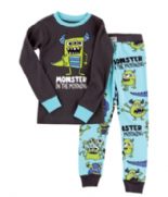 Boys LazyOne Monster In The Morning PJ's With Long Sleeves